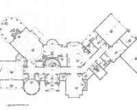 French Chateau Residence First Floor Plan
