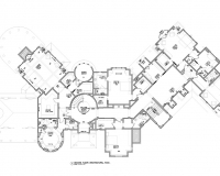 French Chateau Residence second Floor Plan