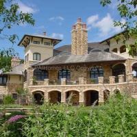 Tuscan Villa Rear Terraces