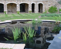Tuscan Villa Fish Pond
