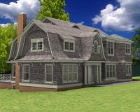 Shingle style classic rendring 3