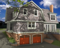 Shingle style classic rendring 4