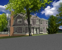 Shingle style classic rendring 5