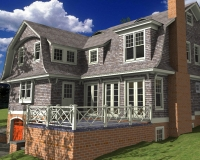 Shingle style classic rendring 6