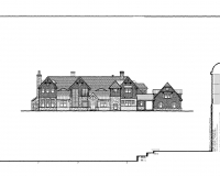 Shingle Style Country-front elev